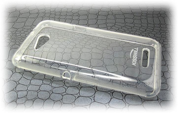 Silikonové pouzdro kryt Kisswill TPU Black pro Sony E2003 Xperia E4g