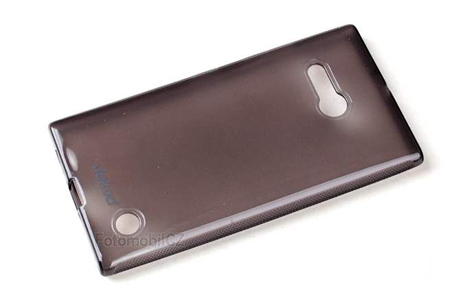 Silikonové pouzdro kryt JEKOD TPU + fólie Black pro Nokia Lumia 730