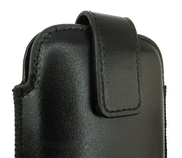 Cora OZBO kožené pouzdro černé