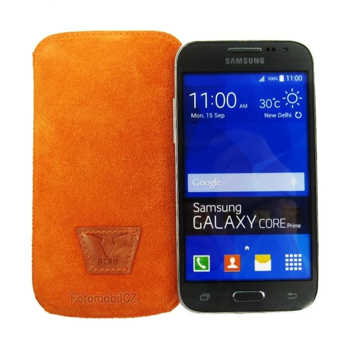 pouzdro OZBO kožené Samsung Core Prime