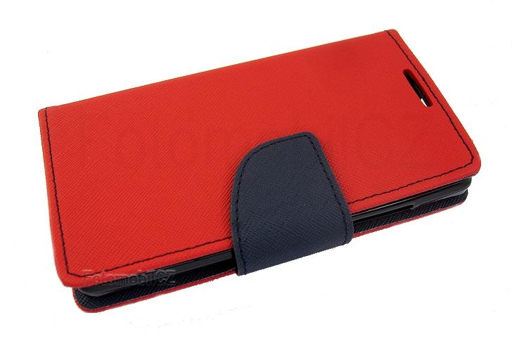 pouzdro fancy diářové červeno-modré